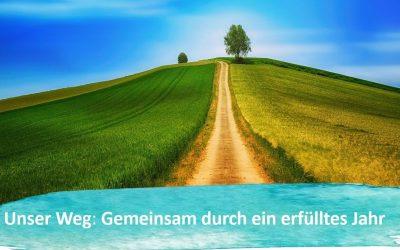 Weitere Weggefährt*innen herzlich willkommen: Unser Weg 2019-Jahresgruppe gestartet!
