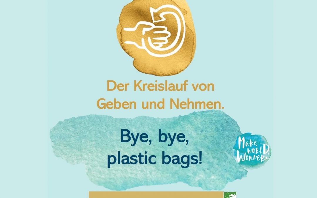 Bye bye, plastic bags!