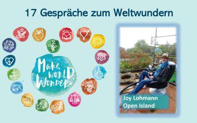 Aktionskunst für den Klimaschutz: der hannoversche Künstler Joy Lohmann