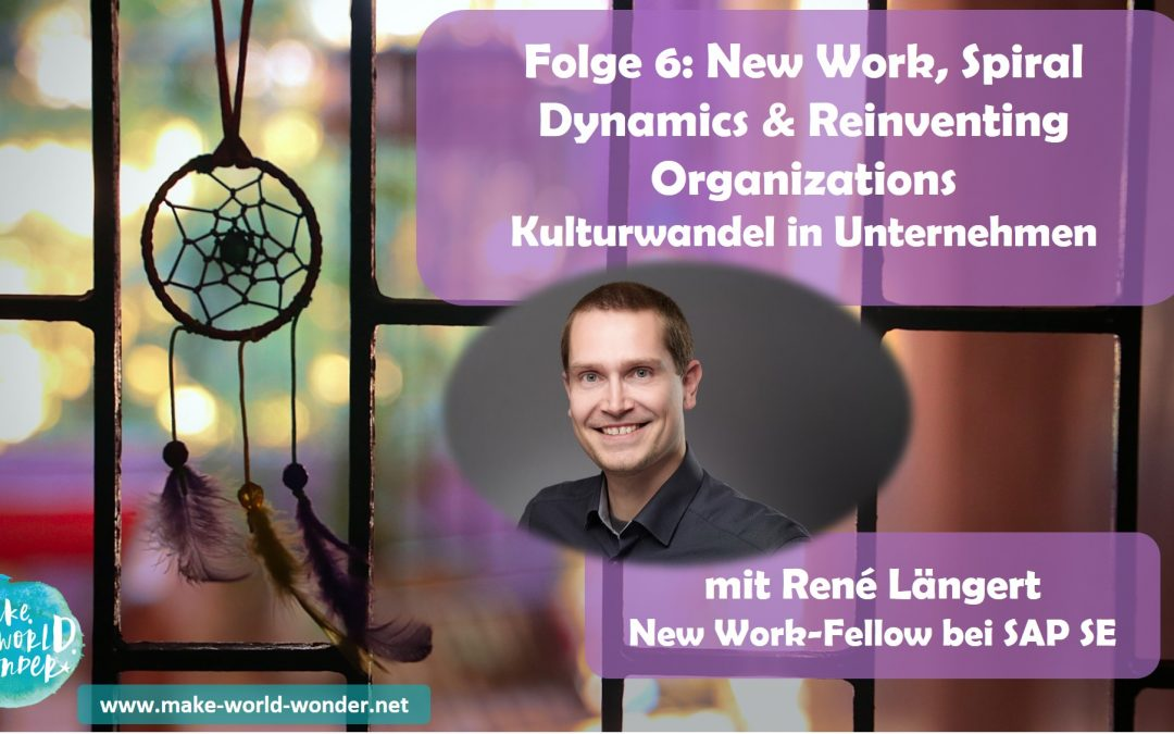 DreamCatcher Podcast Folge 6: New Work, Spiral Dynamics & Reinventing Organizations