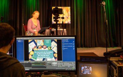 Impressionen vom Livestream MAKE WORLD WONDER – Dauerwerbesendung für eine bessere Welt
