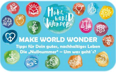 Tipps für Dein gutes, nachhaltiges Leben: Eine neue Serie :-)