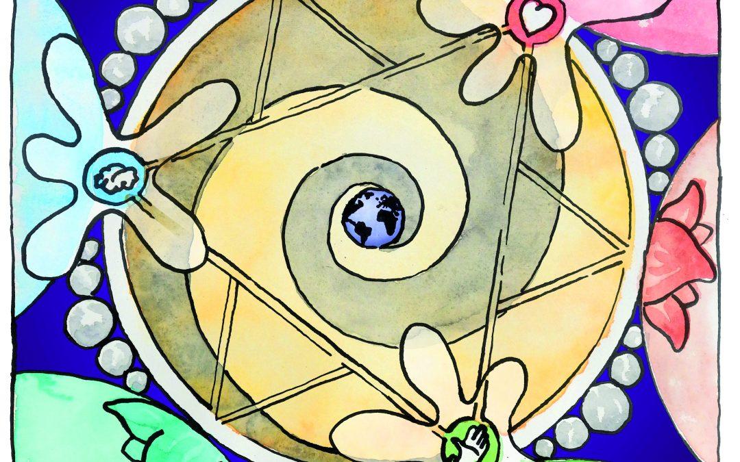Das Mandala von Morgen: Ein magisches Bild und seine magische Geschichte